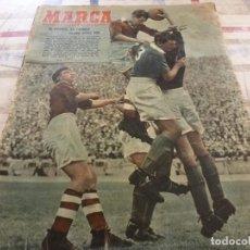 Coleccionismo deportivo: MARCA(9-9-52)R.MADRID 3 AVILÉS 1,SAN ANDRÉS 1 ESPAÑOL 6,PELOTA VASCA,R.MADRID Y CELTA.. Lote 116805647