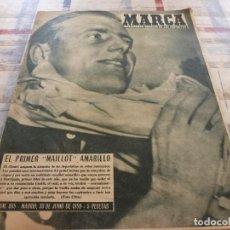 Coleccionismo deportivo: MARCA(30-6-59)DIDI Y GARRINCHA(BRASIL)MADISON SQUARE GARDEN,SALON MOTOR EN BARCELONA.. Lote 116808175
