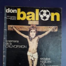Coleccionismo deportivo: DON BALON N°71 AÑO 1977 PORTADA POLÉMICA. Lote 116831026