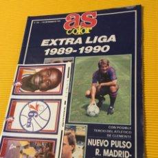 Coleccionismo deportivo: ANTIGUA REVISTA AS COLOR ESPECIAL LIGA 89. Lote 225679795