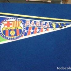 Coleccionismo deportivo: BANDERIN TELA F.C. BARCELONA 1998 EL SPORT NUEVO. Lote 116874567