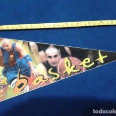 Coleccionismo deportivo: BANDERIN ADHESIVO F.C. BARCELONA 1998 EL SPORT ( BASKET ) NUEVO. Lote 116875039