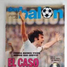 Coleccionismo deportivo: DON BALON EL CASO KEMPES MARZO 1978. Lote 117201931