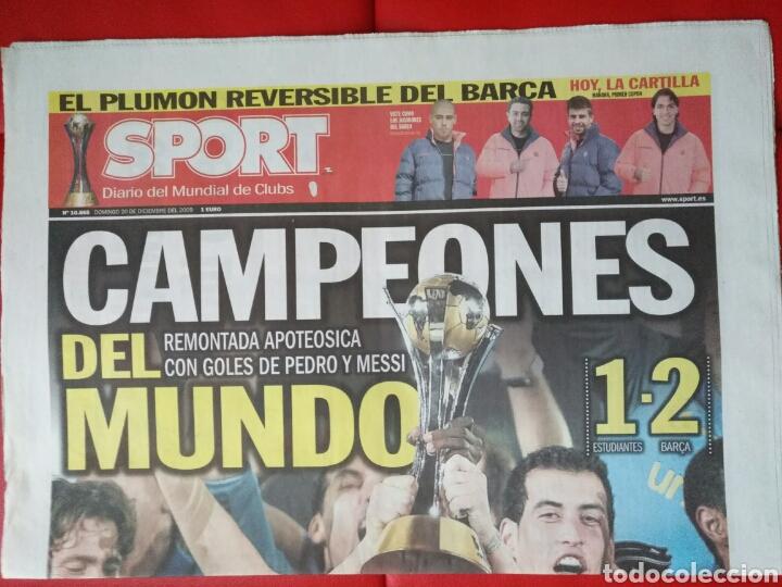 SPORT N° 10865 (Coleccionismo Deportivo - Revistas y Periódicos - Sport)