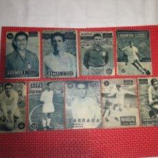 Coleccionismo deportivo: REAL MADRID - LOTE DE 9 - AÑOS 50 - MARQUITOS - MARSAL - KOPA - LESMES - JOSEITO - ZARRAGA - ETC.. Lote 117244679
