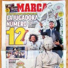 Coleccionismo deportivo: DIARIO MARCA DUODÉCIMA 12 COPA EUROPA REAL MADRID UEFA CHAMPIONS LEAGUE 2017 CELEBRACION. Lote 117401403