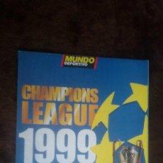 Coleccionismo deportivo: SUPLEMENTO MUNDO DEPORTIVO LIGA 1999-2000. Lote 117471391