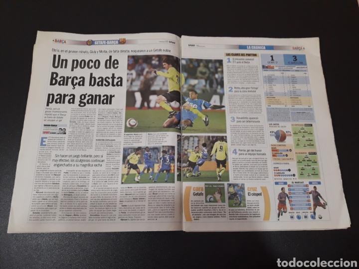 Coleccionismo deportivo: SPORT. N° 9.373. GOLPE DE EFECTO ANTE EL PARTIDAZO DEL 19-N. BARÇA,3 - MADRID,1. - Foto 2 - 117602688