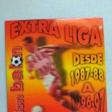 Coleccionismo deportivo: CD DON BALÓN EXTRA DE LIGA DESDE TEMPORADA 87/88 HASTA 96/97. Lote 117758287