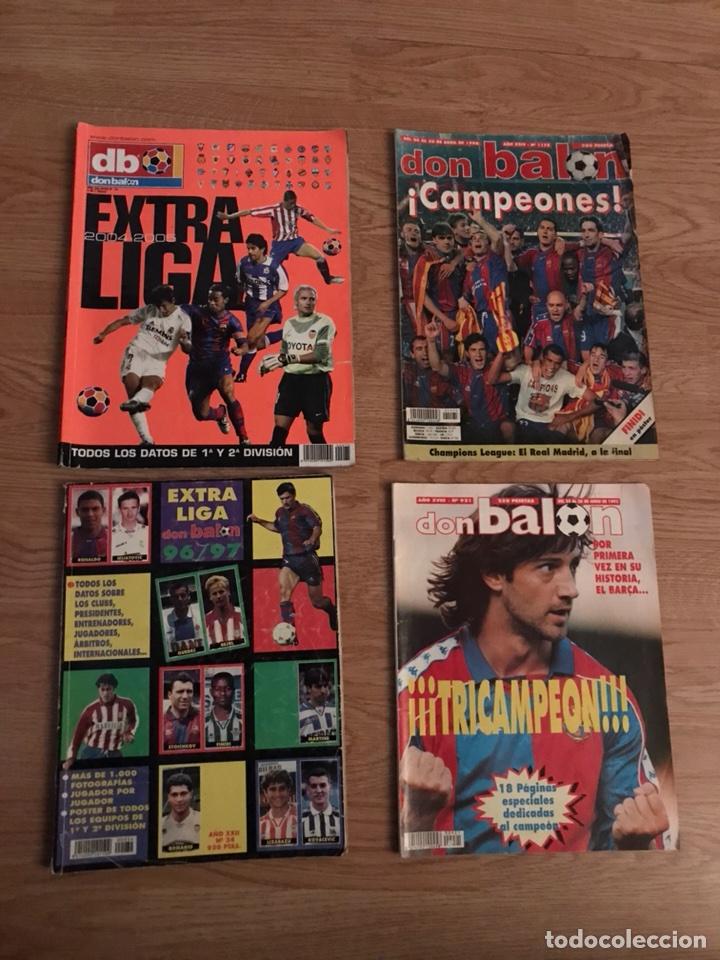 LOTE DE REVISTAS DON BALÓN (Coleccionismo Deportivo - Revistas y Periódicos - Don Balón)