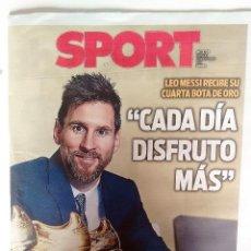 Coleccionismo deportivo: MESSI GANA SU CUARTA BOTA DE ORO. Lote 206045023