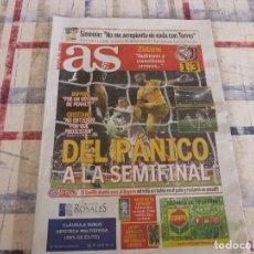 Coleccionismo deportivo: AS(12-4-18)CHAMPIONS LEAGUE !!!R.MADRID 1 JUVENTUS 3 !!! IL FURTO DEL SECOLO--PÁNICO A MADRID. Lote 117815631