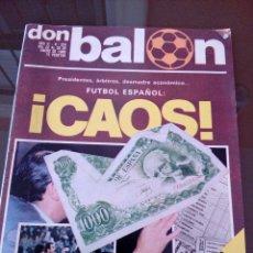 Coleccionismo deportivo: DON BALON - NUMERO 224- DEL 22 AL 28 DE ENERO DE 1980. Lote 117876111