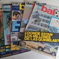 Coleccionismo deportivo: DON BALÓN, LOS CINCO PRIMEROS NÚMEROS. Lote 117882531