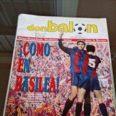Coleccionismo deportivo: REVISTA DON BALON NUMERO 708 - BUEN ESTADO - INCLUYE POSTER ARCONADA. Lote 117934383