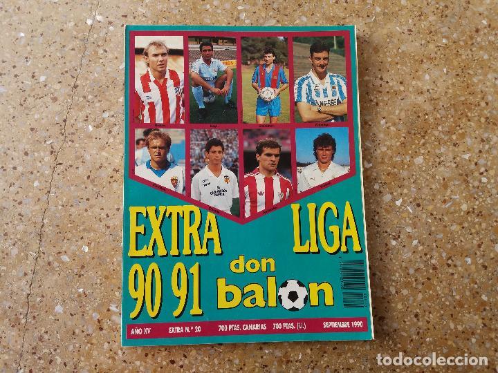 DON BALÓN. EXTRA LIGA 84.85. (Coleccionismo Deportivo - Revistas y Periódicos - Don Balón)