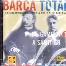 Colecionismo desportivo: VESIV CD-ROM BARÇA TOTAL ENCICLOPEDIA MULTIMEDIA DEL F.C.BARCELONA Nº10 PRECINTADO . Lote 117967955