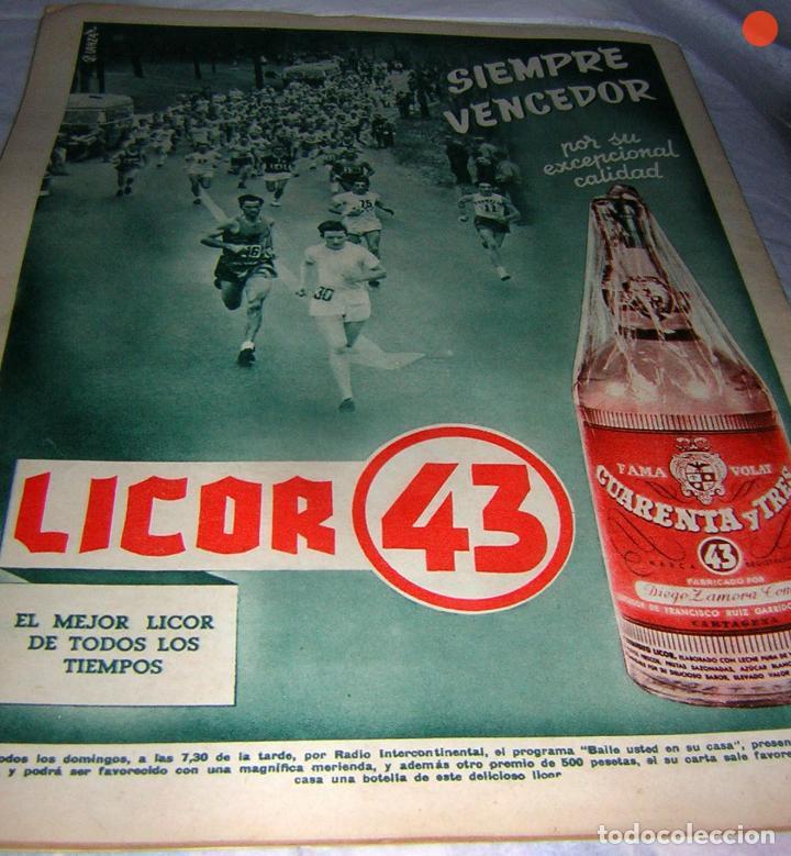 Coleccionismo deportivo: MARCA, SEMANARIO GRÁFICO DE LOS DEPORTES, Nº 524 DE 1952, MÉNDEZ DEL R. MADRID - Foto 2 - 118217139