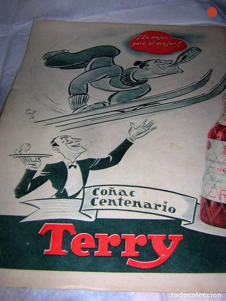 Coleccionismo deportivo: MARCA, SEMANARIO GRÁFICO DE LOS DEPORTES, Nº 582 DE 1954, ARREGUI DEL JAEN - Foto 2 - 118217247