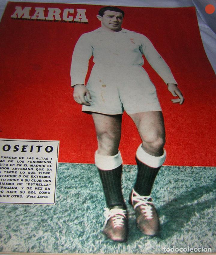 MARCA, SEMANARIO GRÁFICO DE LOS DEPORTES, Nº 585 DE 1954, JOSELITO, R. MADRID (Coleccionismo Deportivo - Revistas y Periódicos - Marca)