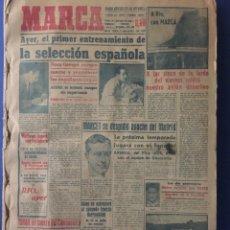Coleccionismo deportivo: MARCA. MUNDIAL DE BRASIL 1950. TODOS LOS PERIODICOS, FINAL, SEMIS...IMPOSIBLE DE CONSEGUIR. Lote 118362683