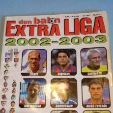 Coleccionismo deportivo: REVISTA DON BALON EXTRA LIGA 2002- 2003 02-03. Lote 118427266