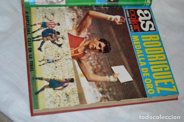 Coleccionismo deportivo: VINTAGE - ANTIGUO TOMO AS COLOR - 11 NÚMEROS - DEL 5 AL 14 Y UN EXTRAORDINARIO - AÑO 1 PUBLICACIÓN - Foto 8 - 118450435