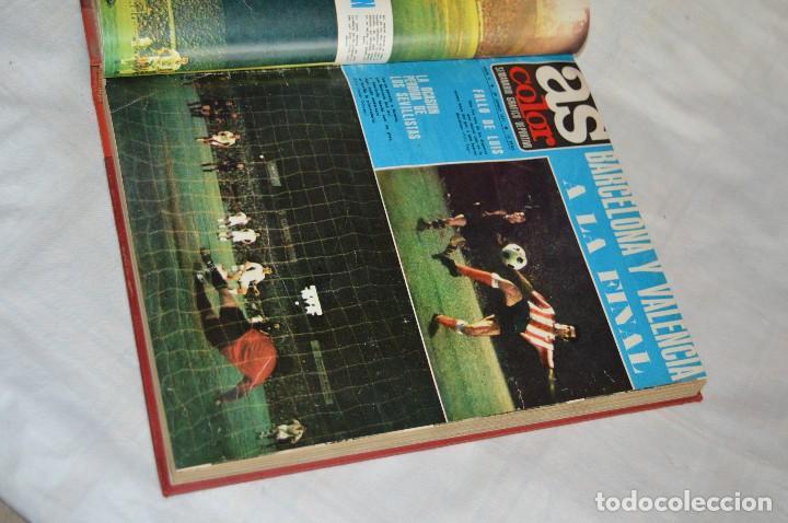 Coleccionismo deportivo: VINTAGE - ANTIGUO TOMO AS COLOR - 11 NÚMEROS - DEL 5 AL 14 Y UN EXTRAORDINARIO - AÑO 1 PUBLICACIÓN - Foto 9 - 118450435