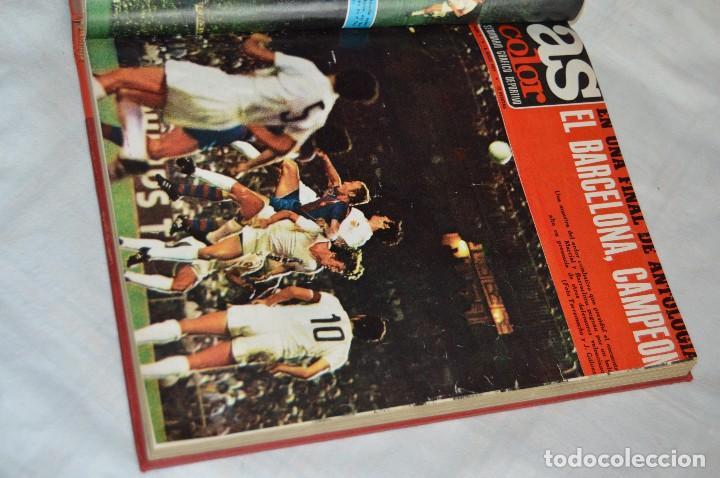Coleccionismo deportivo: VINTAGE - ANTIGUO TOMO AS COLOR - 11 NÚMEROS - DEL 5 AL 14 Y UN EXTRAORDINARIO - AÑO 1 PUBLICACIÓN - Foto 11 - 118450435
