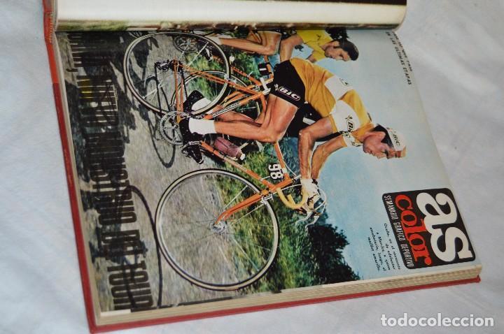 Coleccionismo deportivo: VINTAGE - ANTIGUO TOMO AS COLOR - 11 NÚMEROS - DEL 5 AL 14 Y UN EXTRAORDINARIO - AÑO 1 PUBLICACIÓN - Foto 13 - 118450435