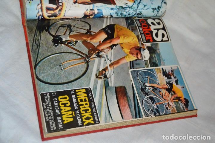 Coleccionismo deportivo: VINTAGE - ANTIGUO TOMO AS COLOR - 11 NÚMEROS - DEL 5 AL 14 Y UN EXTRAORDINARIO - AÑO 1 PUBLICACIÓN - Foto 15 - 118450435