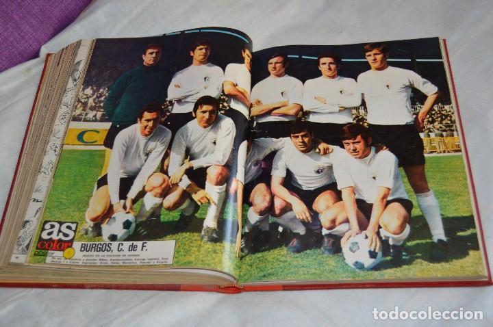 Coleccionismo deportivo: VINTAGE - ANTIGUO TOMO AS COLOR - 11 NÚMEROS - DEL 5 AL 14 Y UN EXTRAORDINARIO - AÑO 1 PUBLICACIÓN - Foto 20 - 118450435