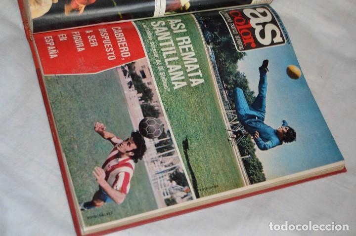 Coleccionismo deportivo: VINTAGE - ANTIGUO TOMO AS COLOR - 11 NÚMEROS - DEL 5 AL 14 Y UN EXTRAORDINARIO - AÑO 1 PUBLICACIÓN - Foto 22 - 118450435