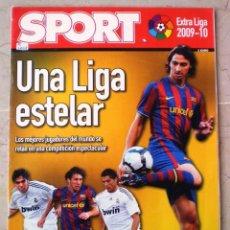Coleccionismo deportivo: SPORT EXTRA LIGA 2009-10 - UNA LIGA ESTELAR. Lote 118461707