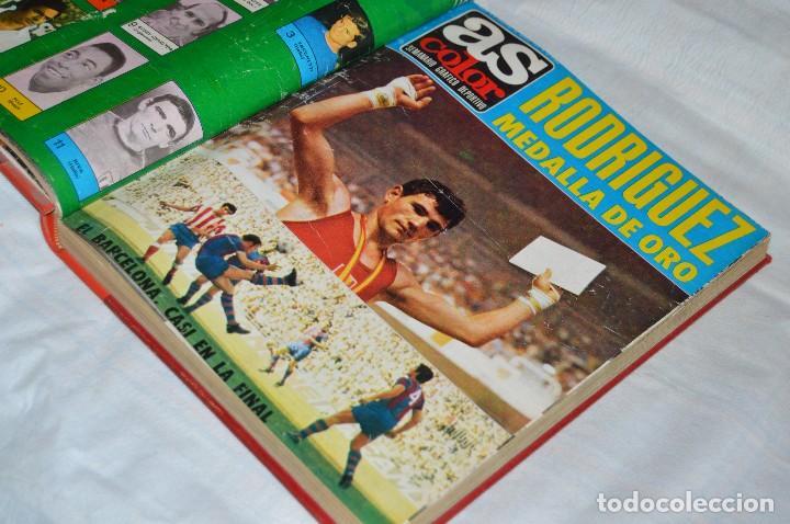 Coleccionismo deportivo: VINTAGE - ANTIGUO TOMO AS COLOR - 11 NÚMEROS - DEL 5 AL 14 Y UN EXTRAORDINARIO - AÑO 1 PUBLICACIÓN - Foto 3 - 118450435