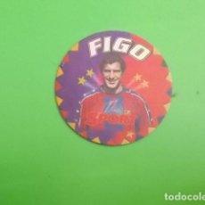 Coleccionismo deportivo: POSAVASOS DE JUGADOR DEL BARCELONA /// FIGO. Lote 118477251