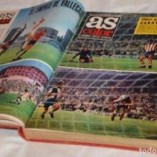 Coleccionismo deportivo: VINTAGE - ANTIGUO TOMO AS COLOR - 16 NÚMEROS - DEL 15 AL 30 - POSTERS CENTRALESS - AÑO 1 PUBLICACIÓN. Lote 118486775