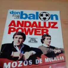 Coleccionismo deportivo: REVISTA DON BALON - NUMERO 277 - ANDALUZ POWER - BUEN ESTADO . Lote 118506147