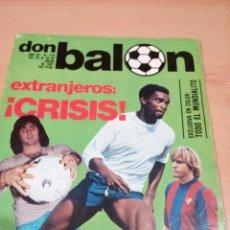 Coleccionismo deportivo: REVISTA DON BALON - NUMERO 276 - EXTRANJEROS CRISIS - BUEN ESTADO . Lote 118506179