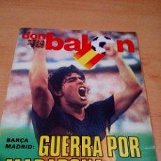 Coleccionismo deportivo: REVISTA DON BALON - NUMERO 346 - GUERRA POR MARADONA - BUEN ESTADO . Lote 118506191
