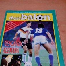 Coleccionismo deportivo: REVISTA DON BALON - NUMERO 768 - ESPECIAL ITALIA 90 - POSTER ALEMANIA - BUEN ESTADO. Lote 118506207