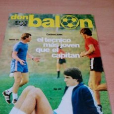 Coleccionismo deportivo: REVISTA DON BALON - NUMERO 307 - - POSTER ARGOTE- BUEN ESTADO. Lote 118506227