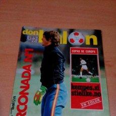 Coleccionismo deportivo: REVISTA DON BALON - NUMERO 238 -ARCONADA - - BUEN ESTADO. Lote 118506235