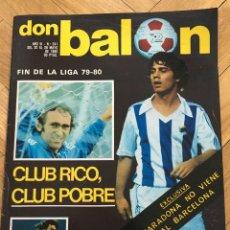 Coleccionismo deportivo: REVISTA DON BALON FINAL RECOPA ARSENAL VALENCIA CAMPEON 1980. Lote 118547659