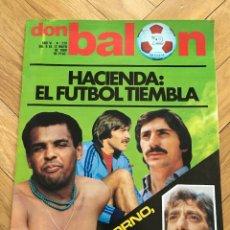 Coleccionismo deportivo: REVISTA DON BALON FINAL RECOPA VALENCIA ARSENAL 1980. Lote 118549191