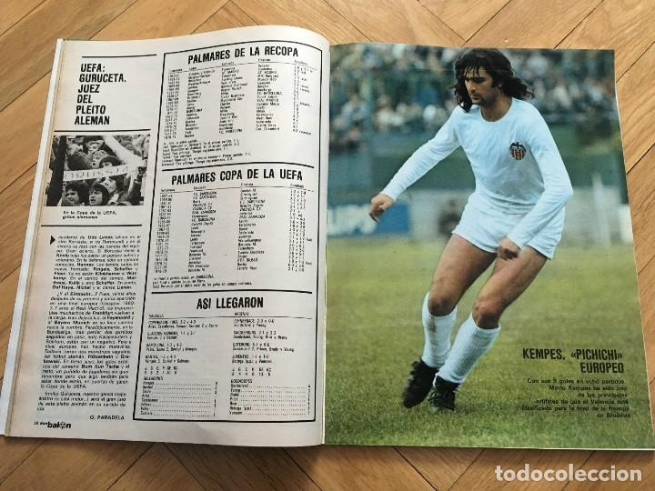 Coleccionismo deportivo: REVISTA DON BALON FINAL RECOPA VALENCIA ARSENAL 1980 - Foto 3 - 118549191