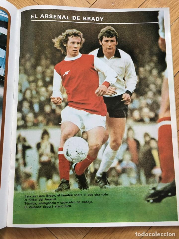 Coleccionismo deportivo: REVISTA DON BALON FINAL RECOPA VALENCIA ARSENAL 1980 - Foto 4 - 118549191