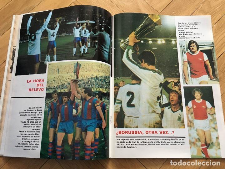 Coleccionismo deportivo: REVISTA DON BALON FINAL RECOPA VALENCIA ARSENAL 1980 - Foto 5 - 118549191