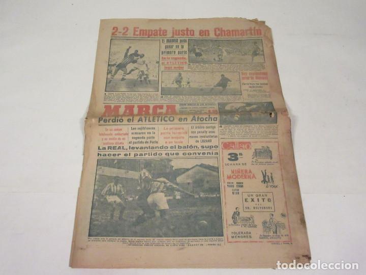 Coleccionismo deportivo: Marca. Diario Gráfico de los Deportes. Número 2172. 14 de noviembre de 1949. - Foto 2 - 118582979