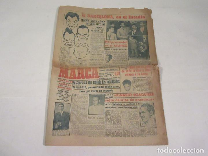 MARCA. DIARIO GRÁFICO DE LOS DEPORTES. NÚMERO 2165. 6 DE NOVIEMBRE DE 1949. (Coleccionismo Deportivo - Revistas y Periódicos - Marca)